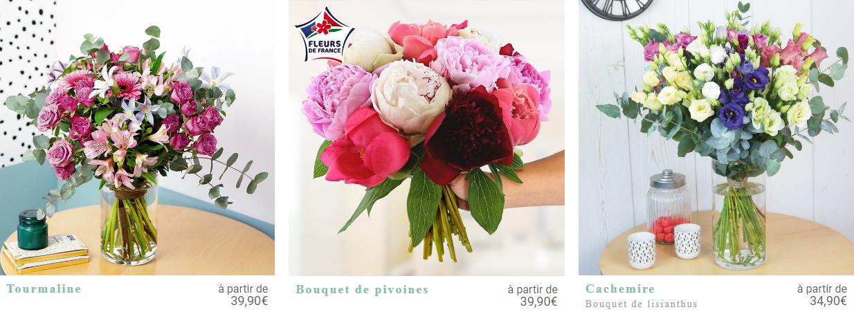 Bouquets de fleurs Bebloom