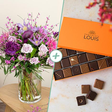 Rose Tendresse et ses chocolats