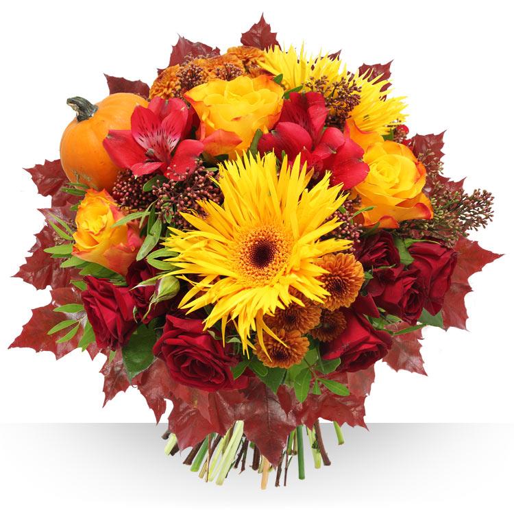 livraison de fleurs bouquets d 39 automne. Black Bedroom Furniture Sets. Home Design Ideas