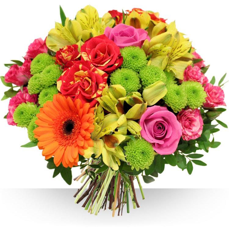 Anniversaire festival for Bouquet de fleurs pour une naissance