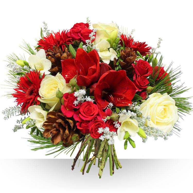 Livraison de fleurs avec le fleuriste for Fleurs amaryllis bouquet