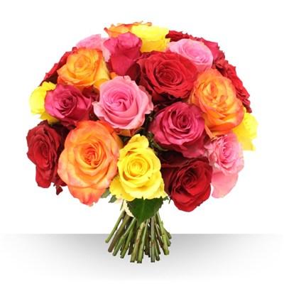 Livraison de fleurs avec le fleuriste for Gros bouquet de fleurs