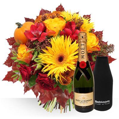 Automne et champagne