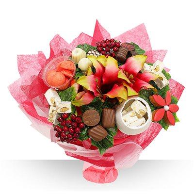 le fleuriste gourmand cration de bouquet chocolat et bouquet bonbon. Black Bedroom Furniture Sets. Home Design Ideas