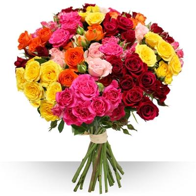 Livraison de fleurs avec le fleuriste - Vente a terme avec bouquet ...