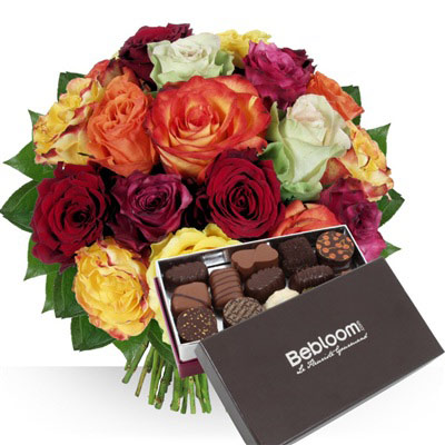 Achat et livraison bouquets de fleurs et cadeaux for Bouquet cadeau