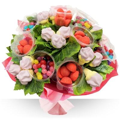 Le fleuriste gourmand cration de bouquet chocolat et for Envoi bouquet