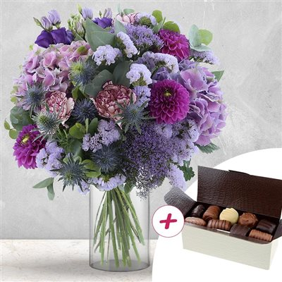 Lovely parme XXL et ses chocolats - bebloom