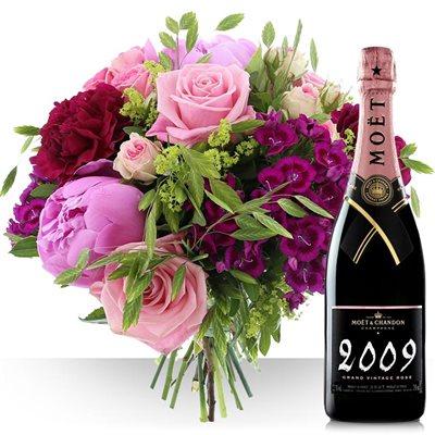 Maman et son champagne rosé - bebloom