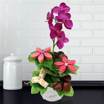 Offrir des fleurs en chocolat avec thierry bonnet le for Livrer des fleurs demain
