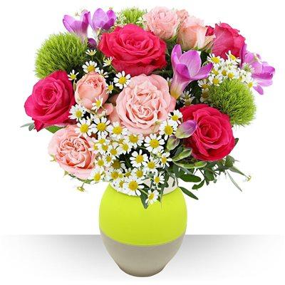 Pinky et son vase - bebloom