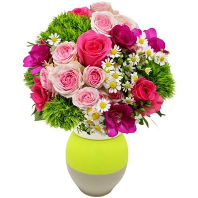 Pinky et son vase