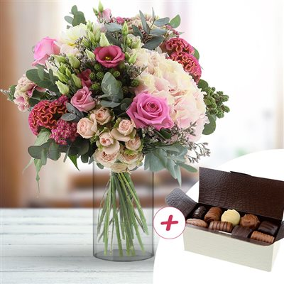 Rock and rose XXL et ses chocolats - bebloom