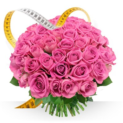 Roses roses sur mesure - bebloom