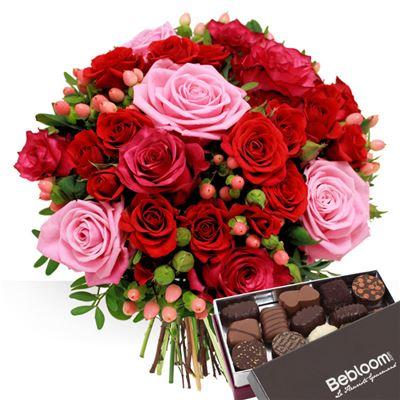 Saint Valentin et chocolats