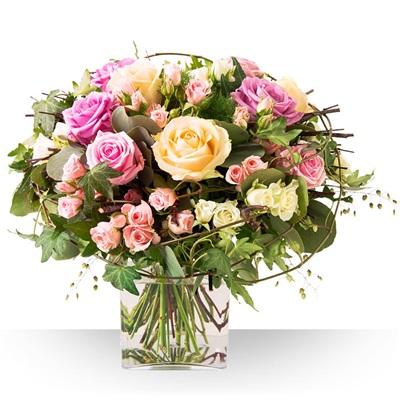 Saint valentin livraison de fleurs pour les valentins - Idee bouquet de fleur ...
