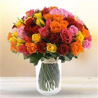 Bouquet de roses sur-mesure