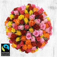 Bouquet de roses : 101 roses variees - bebloom