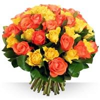Image 50 roses Safran par Bebloom
