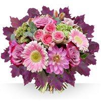 Savourez la fin de l'�t� avec ce joli bouquet aux teintes �clatantes. Un...