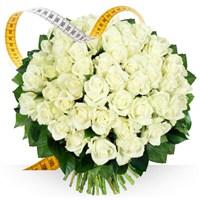 Image Roses blanches sur mesure par Bebloom