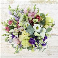 Bouquet de lisianthus pastel XL - bebloom