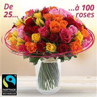 Bouquet de roses sur-mesure - bebloom