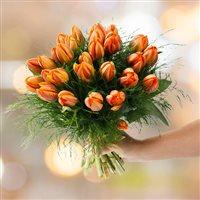 Bouquet de tulipes Princesse Irène XXL - bebloom