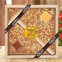 Chocolat à casser, lait et caramel beurre sale - bebloom
