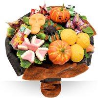 Bouquet sur la th�matique halloween pour le plaisir d'une d�gustation de bonb...