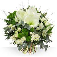 Pour fêter l'hiver, Bebloom vous propose ce nouveau bouquet aux couleurs sais...