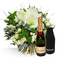 Hiver et champagne