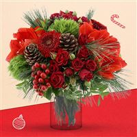 Merry Christmas et son vase - bebloom